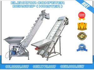 ELEFATOR CONVEYER BERSIRIP HOISTER
