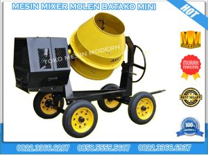 mixer molen batako mini